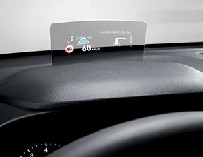 Available heads up display