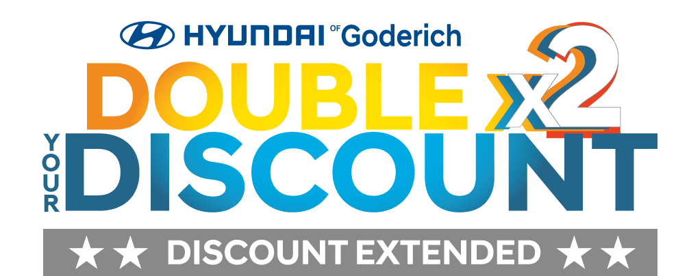 DOUBLE YOUR DISCOUNT