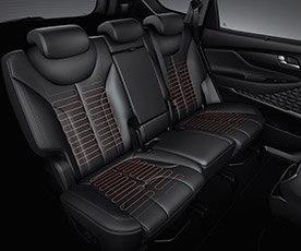 Rear heated seats