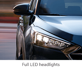 Full LED headlights