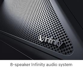 Infinity audio system
