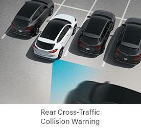 Rear-Cross Traffic Collision Warning